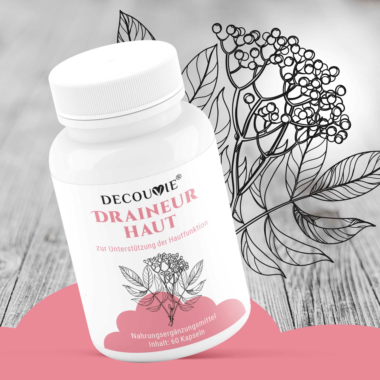 Draineur Haut, zur Unterstützung des Hautstoffwechsels, 60 Kapseln